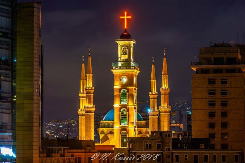 clouds  light  church  mosque  ngconassignment  Lebanon  ig_great_shots ... (Beirut, Lebanon)